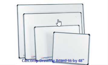 "Calcomp ""DrawingBoard VI"" Digitizer, 36″ by 48″"