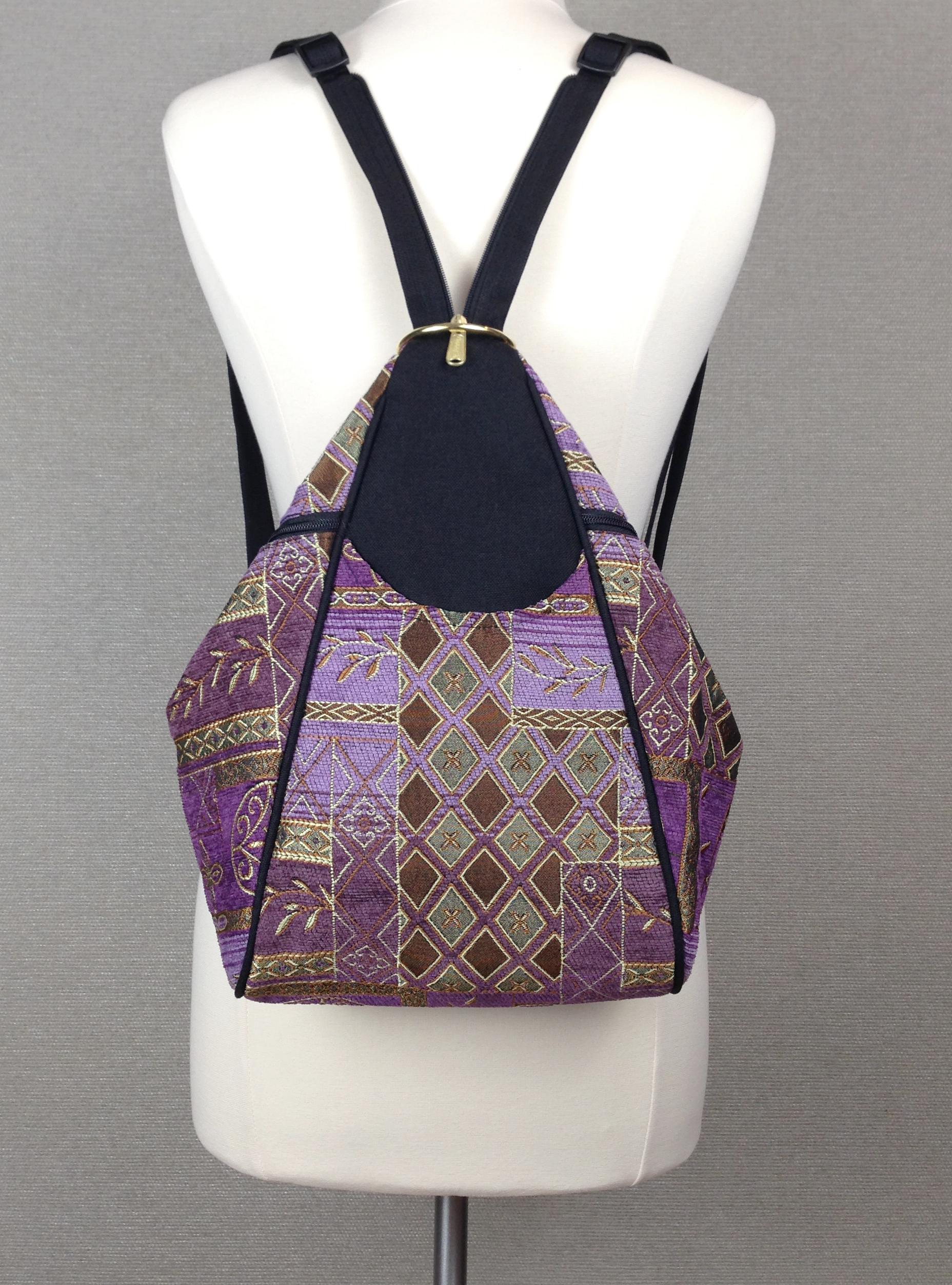 Classic Backpack Neptune Purple